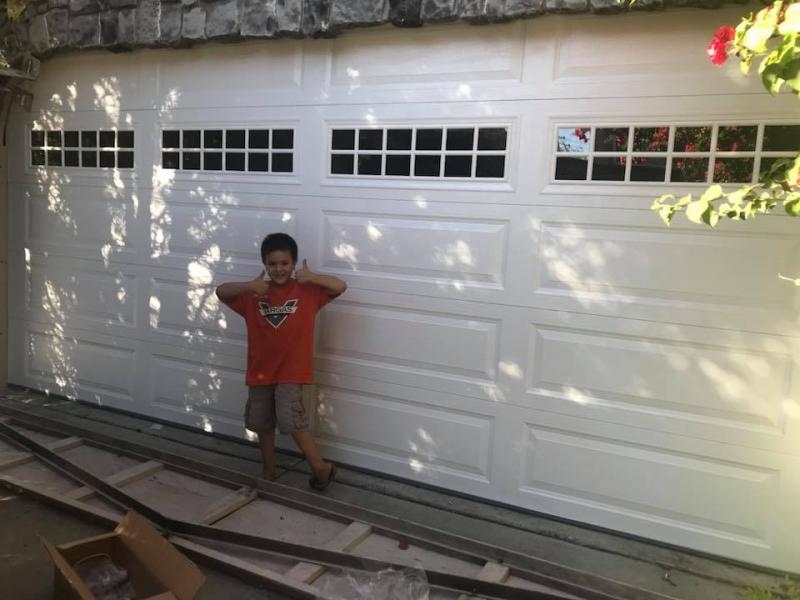 Mc garage doors installations repair maintenance for Garage door repair santa cruz
