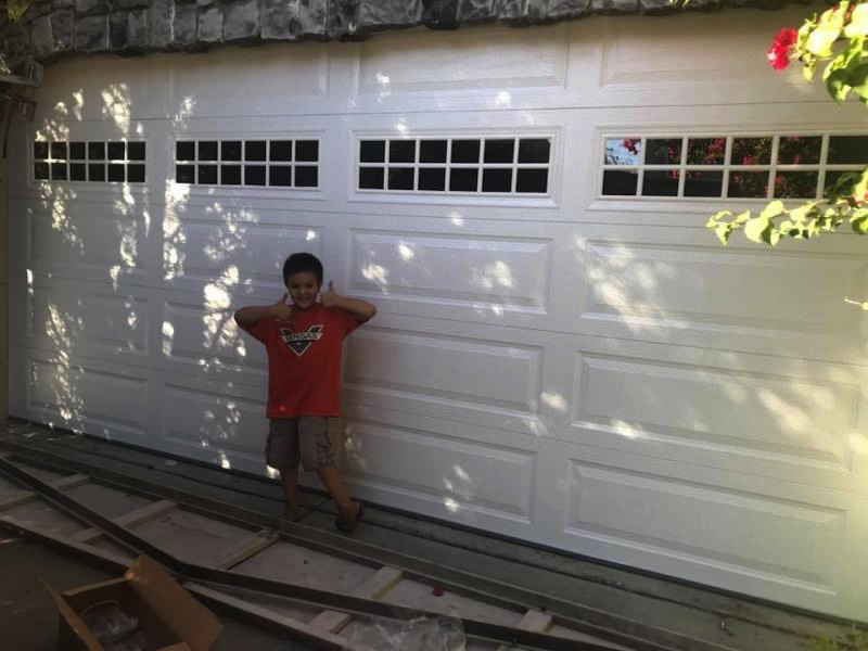 ... Of The Top (which Is More Popular) To Accomodate The Curve In The Stone  Design At The Top Of The Door Frame. Here Is Our Son, Kyle, Giving A Thumbs  Up!